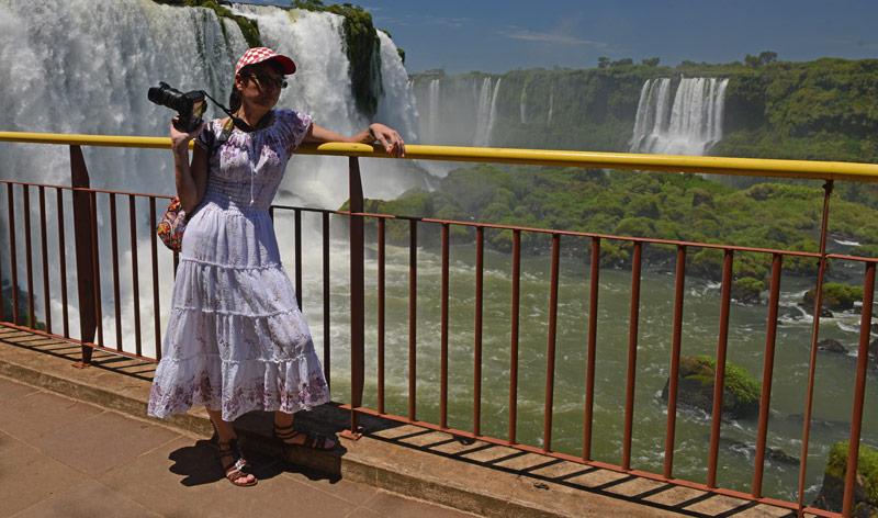 Бразилия. Водопады Игуасу. Brasil. Iguacu Falls. 34
