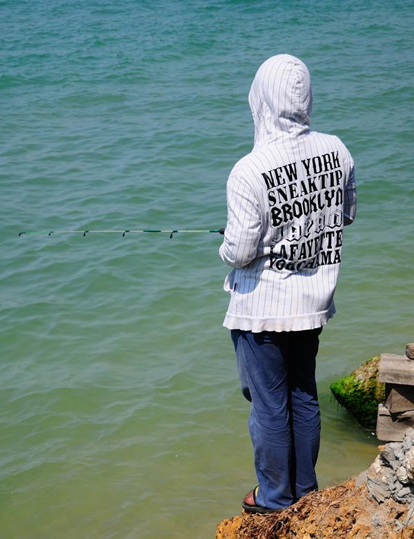 Паттайя. Рыбалка на пляже. 69