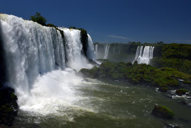 Бразилия. Водопады Игуасу. Brasil. Iguacu Waterfalls. 37