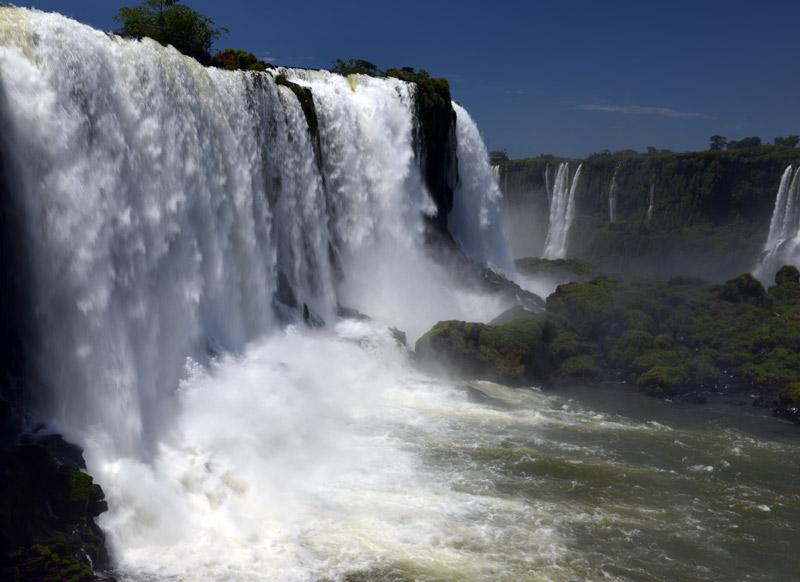 Бразилия. Водопады Игуасу. Brasil. Iguacu Falls. 38