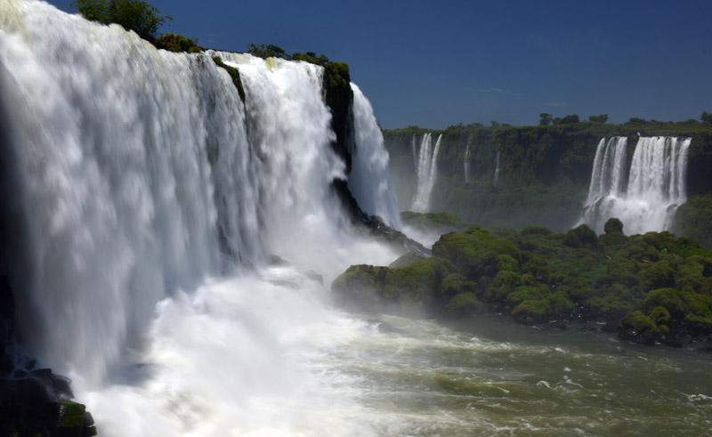Бразилия. Водопады Игуасу. Brasil. Iguacu Waterfalls. 39