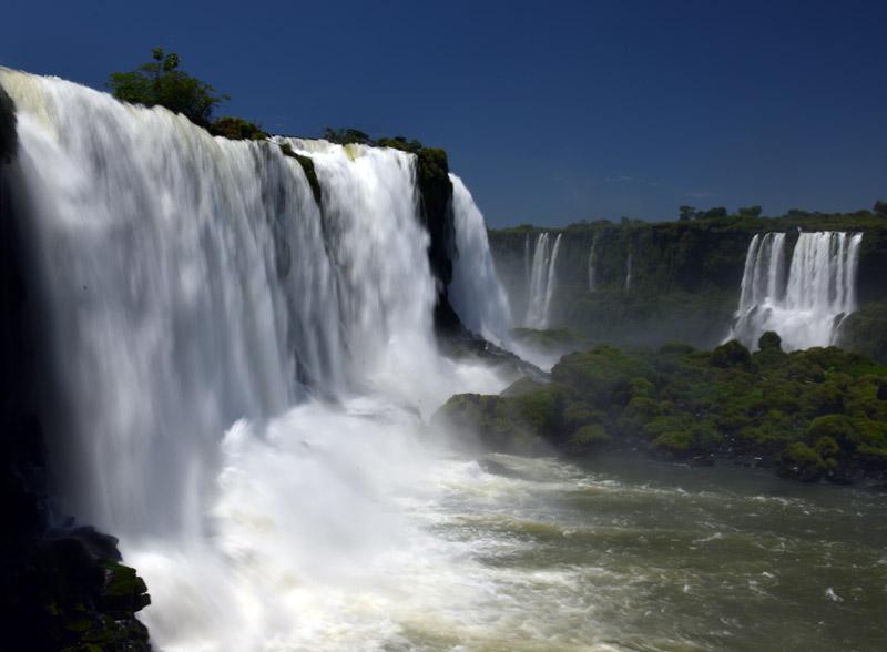 Бразилия. Водопады Игуасу. Brasil. Iguacu Falls. 40
