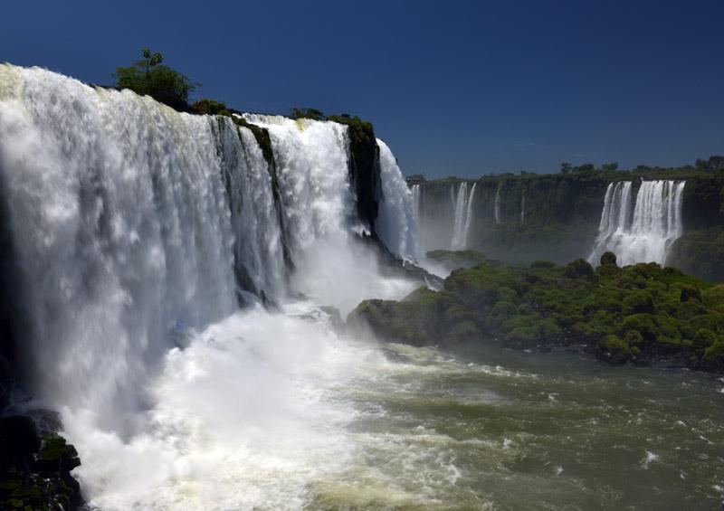 Бразилия. Водопады Игуасу. Brasil. Iguacu Falls. 42