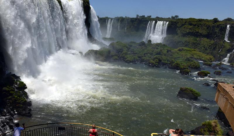 Бразилия. Водопады Игуасу. Brasil. Iguacu Falls. 44