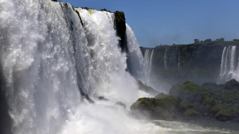 Бразилия. Водопады Игуасу. Brasil. Iguacu Waterfalls. 48