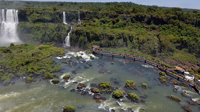 Бразилия. Водопады Игуасу. Brasil. Iguacu Waterfalls. 65