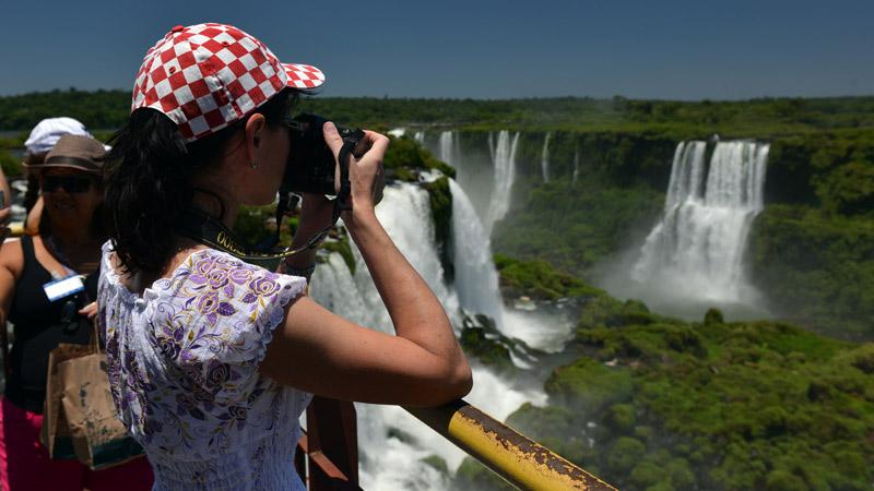 Бразилия. Водопады Игуасу. Brasil. Iguacu Waterfalls. 56