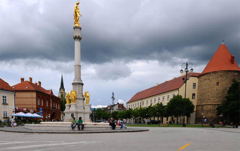 Загреб. Площадь перед собором Вознесения Девы Марии. Zagreb. 28