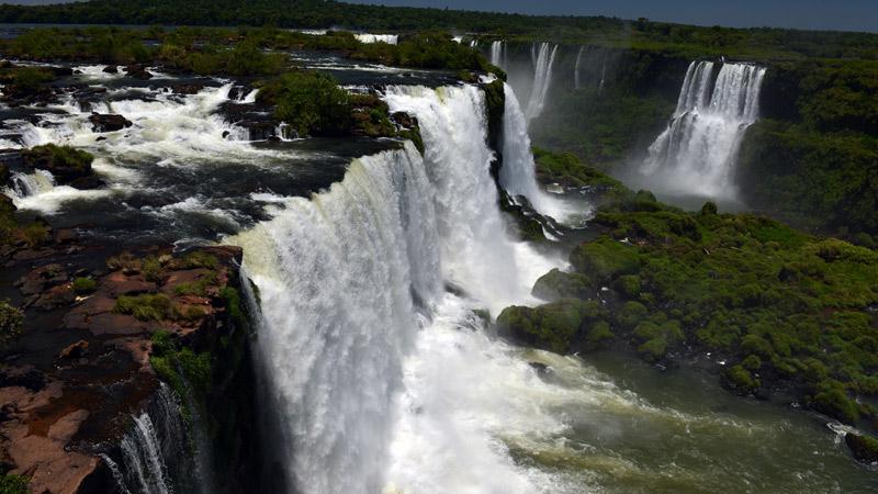 Бразилия. Водопады Игуасу. Brasil. Iguacu Waterfalls. 58