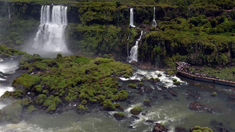 Бразилия. Водопады Игуасу. Brasil. Iguacu Waterfalls. 66