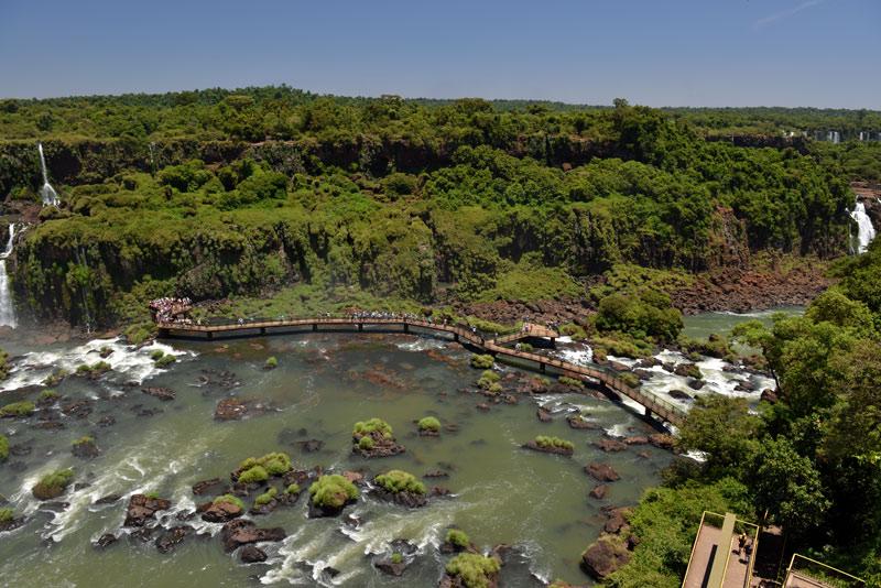 Бразилия. Водопады Игуасу. Brasil. Iguacu Falls. 67