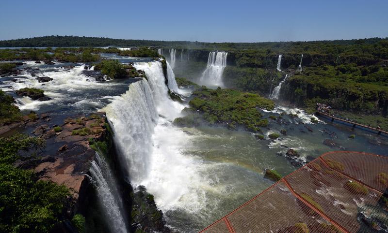 Бразилия. Водопады Игуасу. Brasil. Iguacu Falls. 61