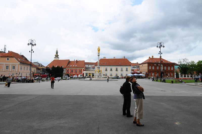 Загреб. Площадь перед собором Вознесения Девы Марии. Zagreb. 29