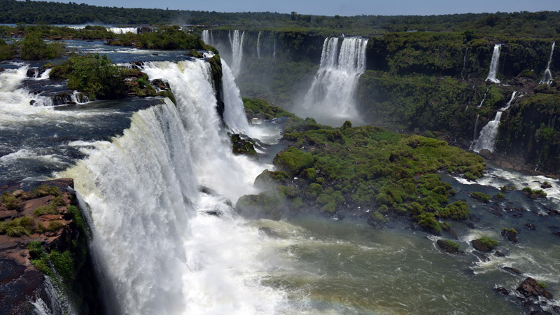 Бразилия. Водопады Игуасу. Brasil. Iguacu Waterfalls. 62