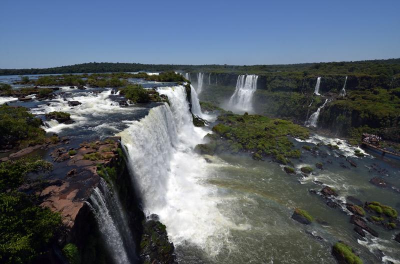 Бразилия. Водопады Игуасу. Brasil. Iguacu Falls. 63