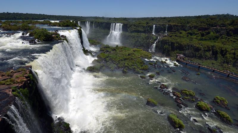 Бразилия. Водопады Игуасу. Brasil. Iguacu Falls. 64