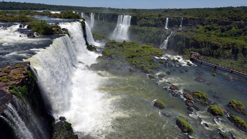 Бразилия. Водопады Игуасу. Brasil. Iguacu Falls. 68