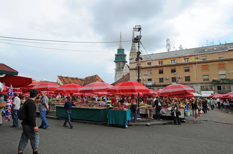 Загреб. Рынок Долац. Zagreb. Dolac. 35