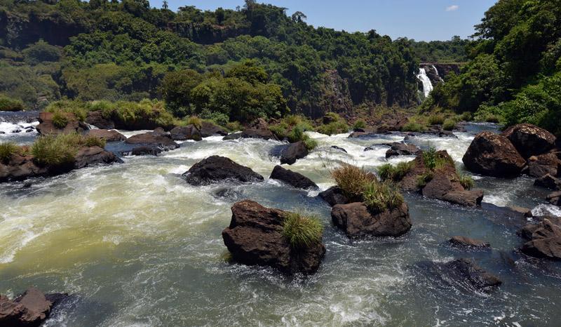 Бразилия. Водопады Игуасу. Brasil. Iguacu Falls. 72