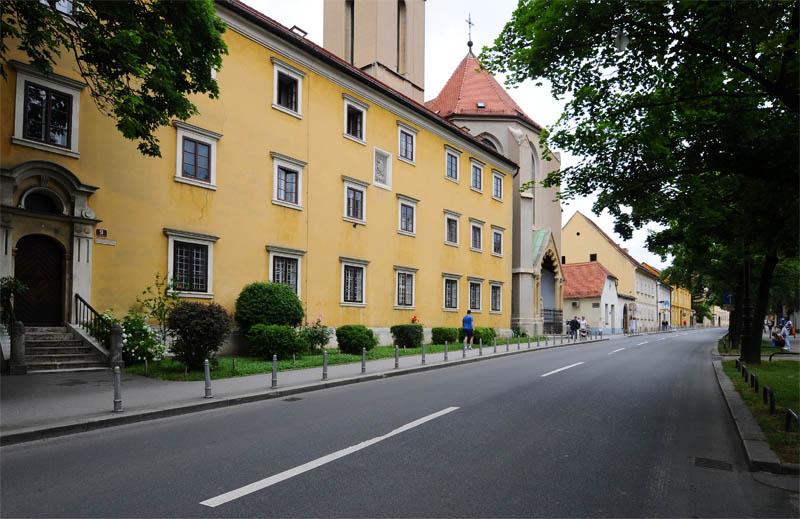 Загреб. Каптол. Франсцисканский монастырь. Zagreb. Kaptol.40