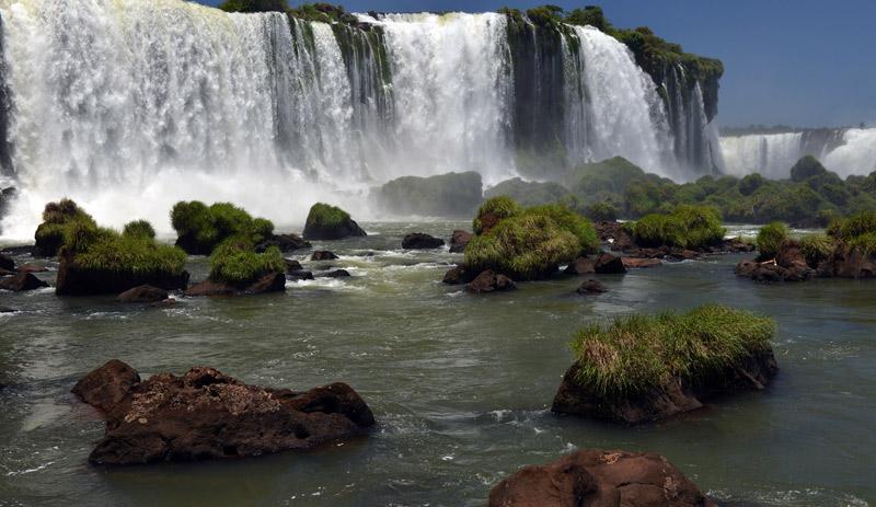 Бразилия. Водопады Игуасу. Brasil. Iguacu Waterfalls. 75