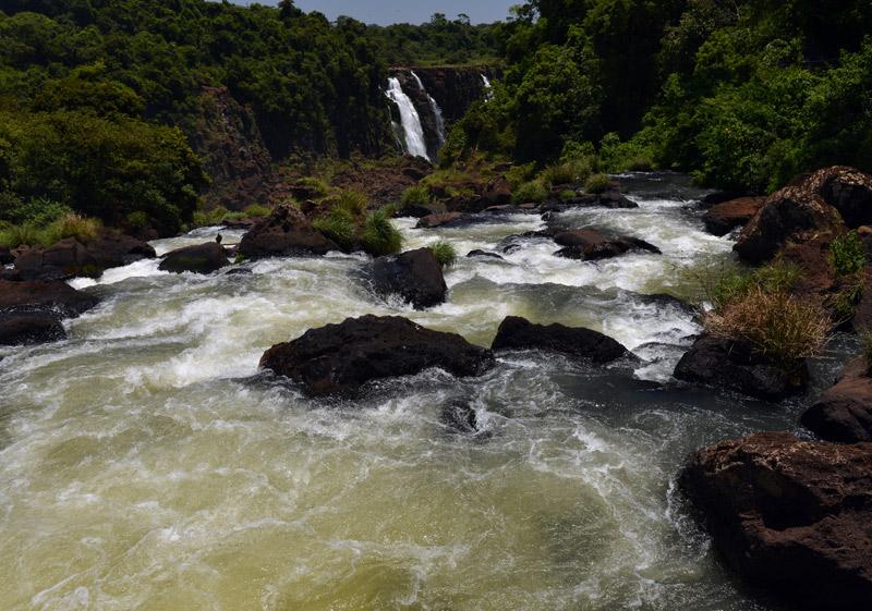 Бразилия. Водопады Игуасу. Brasil. Iguacu Waterfalls. 76
