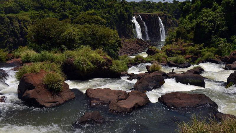 Бразилия. Водопады Игуасу. Brasil. Iguacu Falls. 77