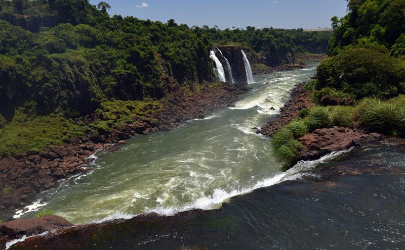 Бразилия. Водопады Игуасу. Brasil. Iguacu Falls. 79