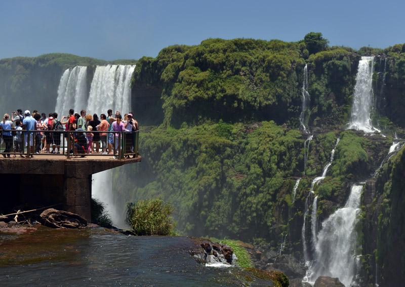 Бразилия. Водопады Игуасу. Brasil. Iguacu Falls. 80