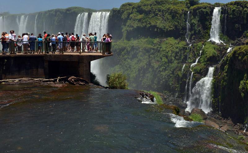 Бразилия. Водопады Игуасу. Brasil. Iguacu Falls. 81