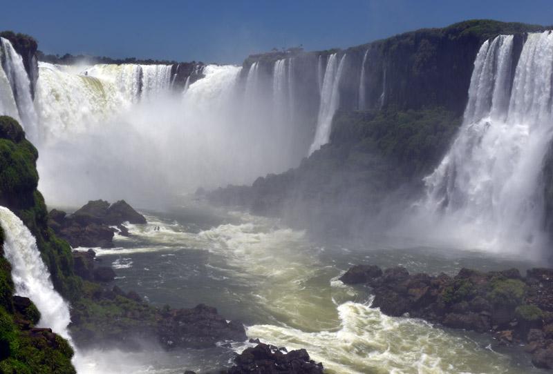 Бразилия. Водопады Игуасу. Brasil. Iguacu Falls. 84