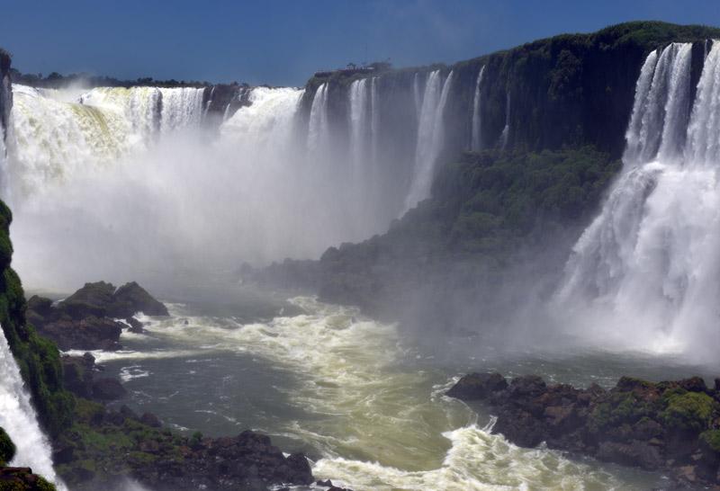 Бразилия. Водопады Игуасу. Brasil. Iguacu Falls. 85