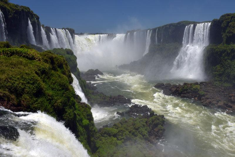 Бразилия. Водопады Игуасу. Brasil. Iguacu Falls. 86