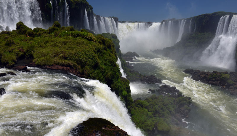 Бразилия. Водопады Игуасу. Brasil. Iguacu Waterfalls. 88