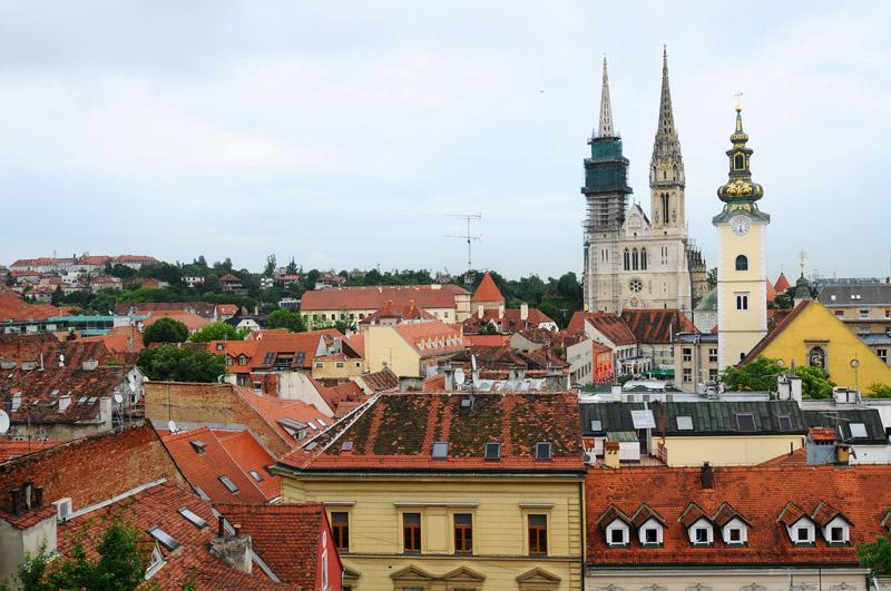 Крыши Загреба. Zagreb. 54