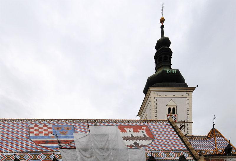 Загреб. Церковь Св. Марка. Zagreb. 59.