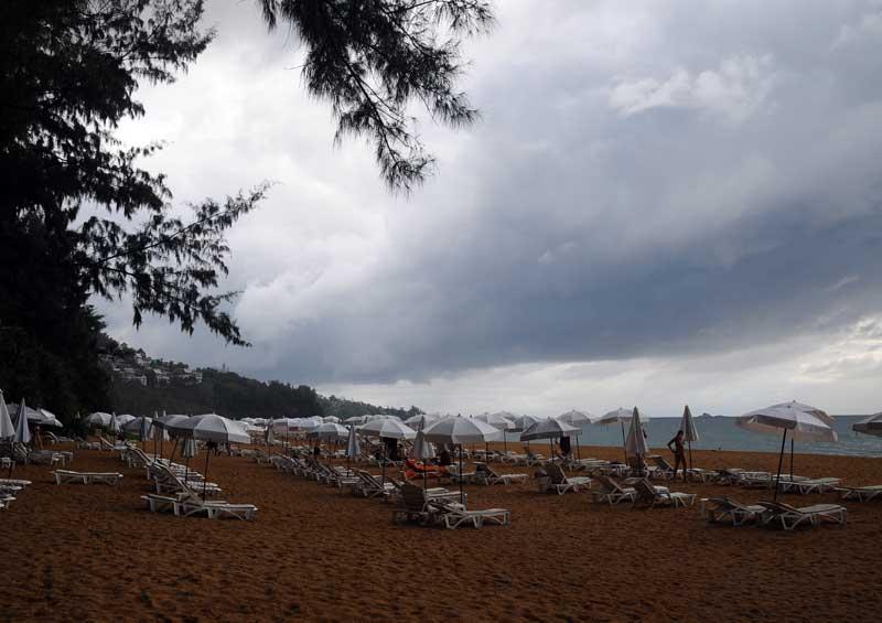 Пляжи и отели острова Пхукет. Пляж Най Тон. Nai Thon Beach. 4