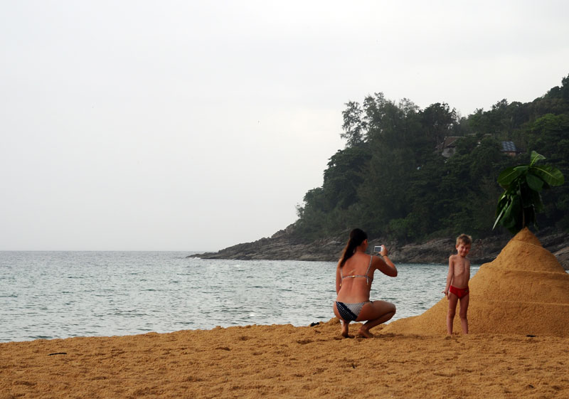 Пляжи и отели острова Пхукет. Пляж Най Тон. Nai Thon Beach. 6