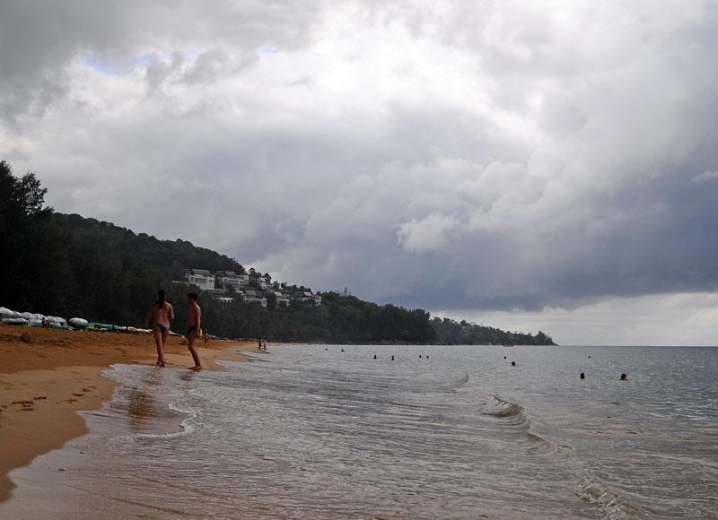 Пляжи и отели острова Пхукет. Пляж Най Тон. Nai Thon Beach. 9