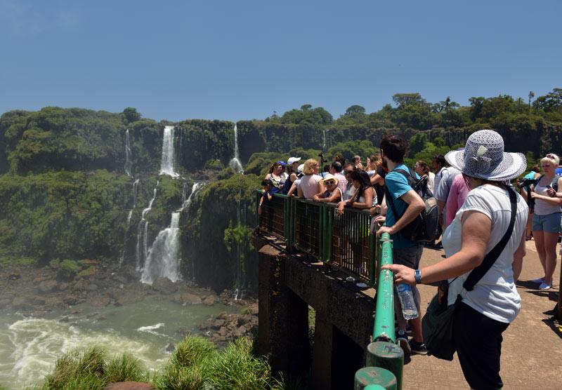 Бразилия. Водопады Игуасу. Brasil. Iguacu Falls. 91