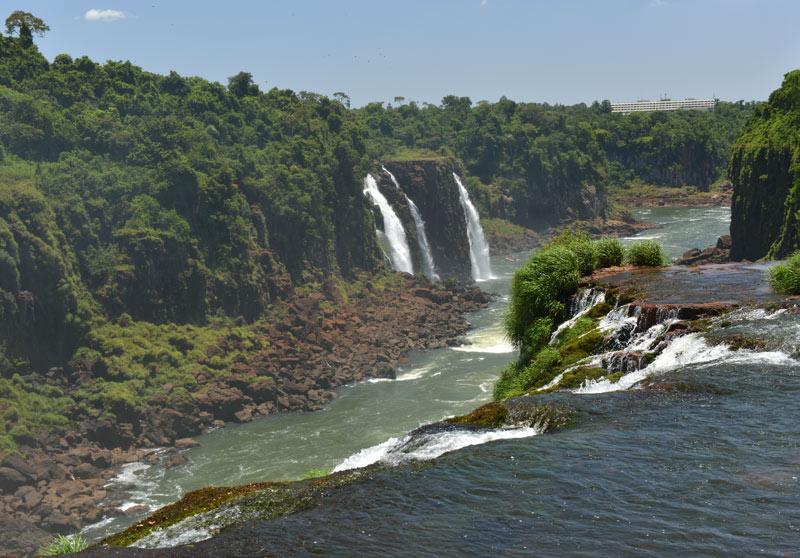 Бразилия. Водопады Игуасу. Brasil. Iguacu Falls. 93