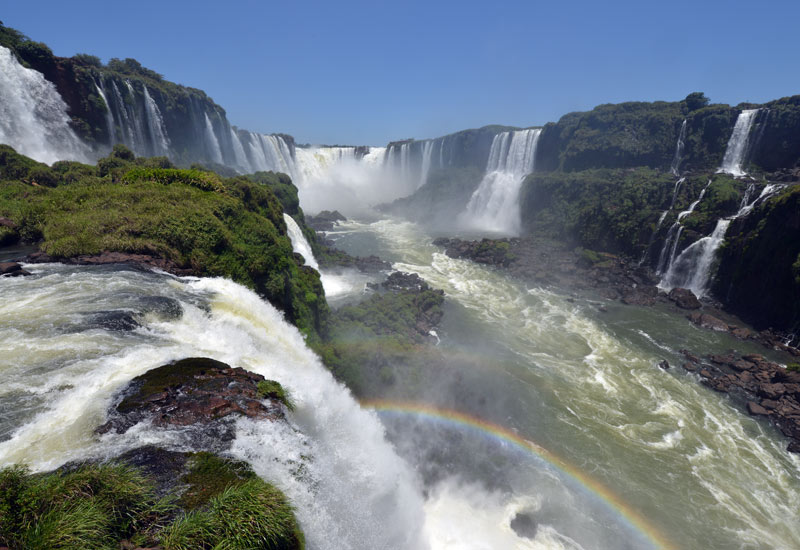Бразилия. Водопады Игуасу. Brasil. Iguacu Waterfalls. 98