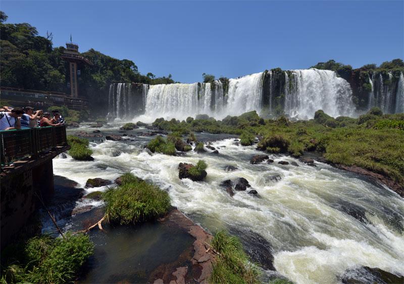 Бразилия. Водопады Игуасу. Brasil. Iguacu Falls. 104