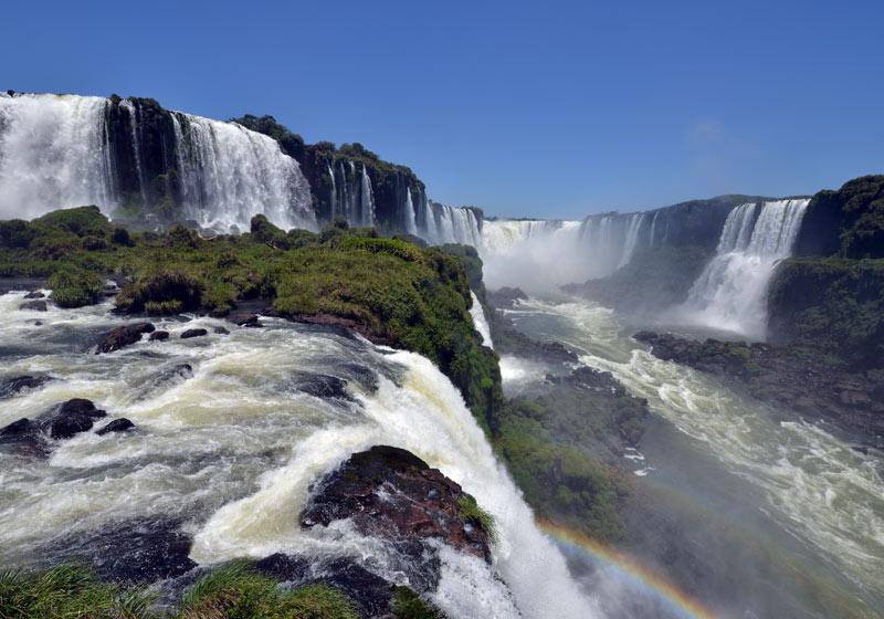Бразилия. Водопады Игуасу. Brasil. Iguacu Falls. 103
