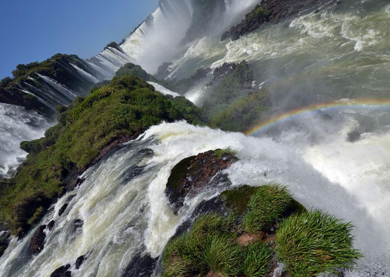 Бразилия. Водопады Игуасу. Brasil. Iguacu Waterfalls. 105