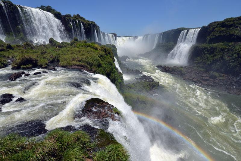 Бразилия. Водопады Игуасу. Brasil. Iguacu Waterfalls. 107