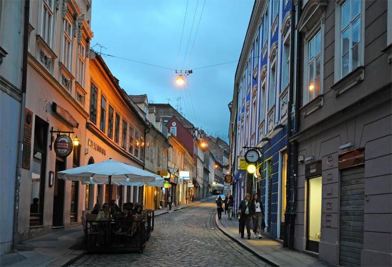 Вечерний Загреб. Zagreb. 69