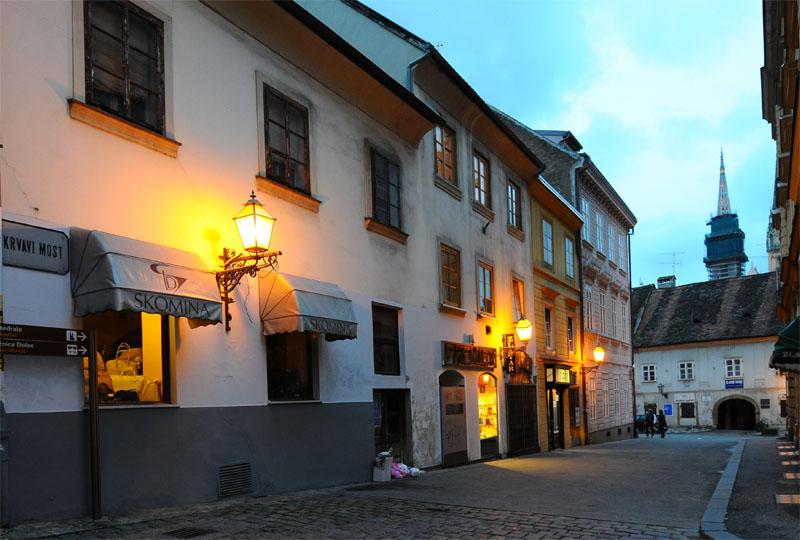 Вечерний Загреб. Zagreb. 70