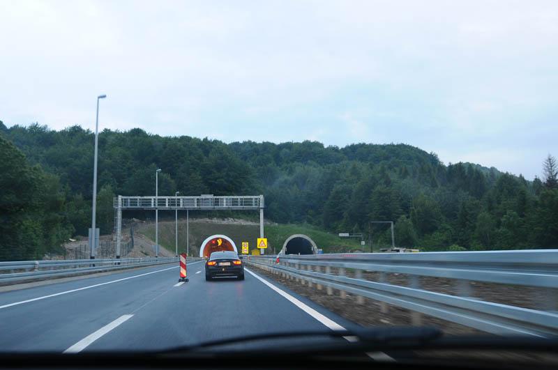 Хорватия. Дороги. Туннель. 6
