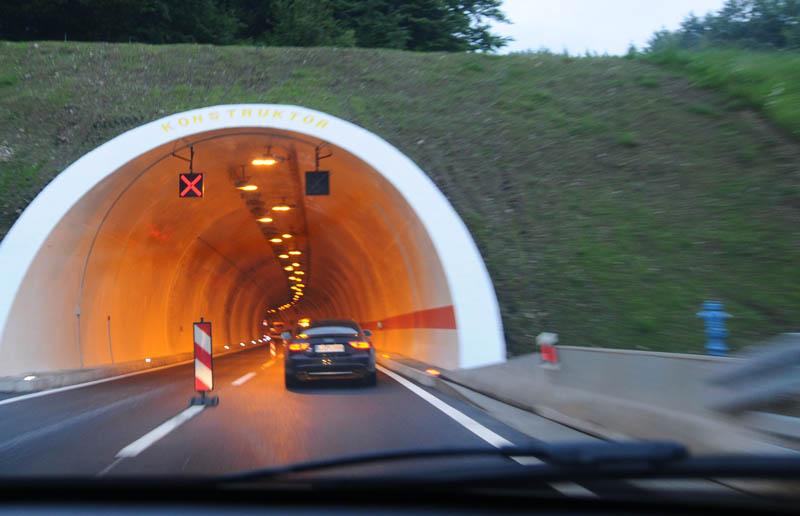 Хорватия. Дороги. Туннель. 7